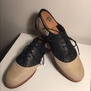 Only-Worn Once Saddle Shoes